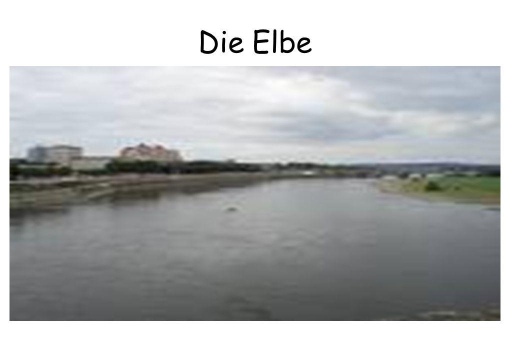 Bei Nacht Die Elbe Bei Tag