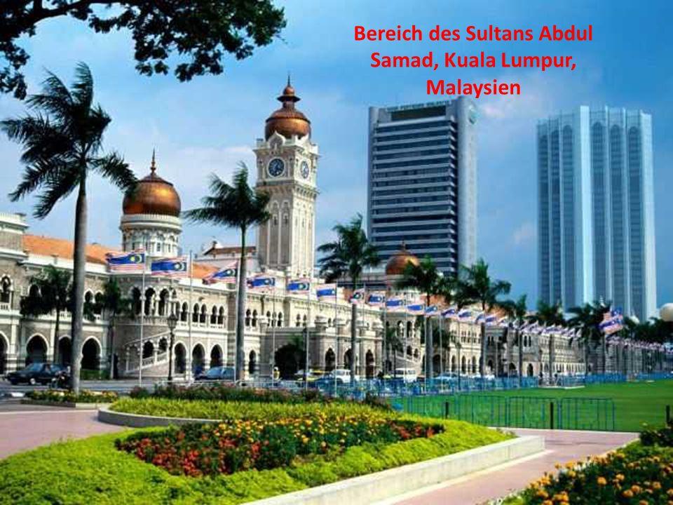 Bereich des Sultans Abdul Samad, Kuala Lumpur, Malaysien