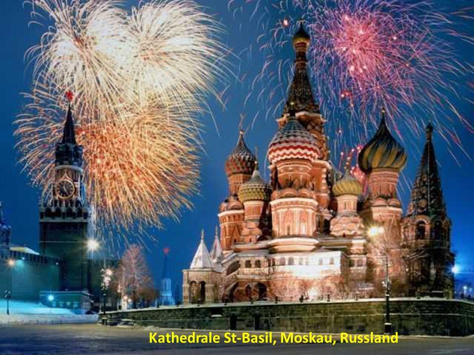 Kathedrale St-Basil, Moskau, Russland