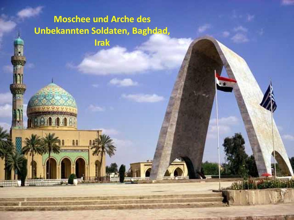 Moschee und Arche des Unbekannten Soldaten, Baghdad, Irak