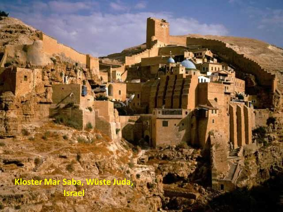 Kloster Mar Saba, Wüste Juda, Israel