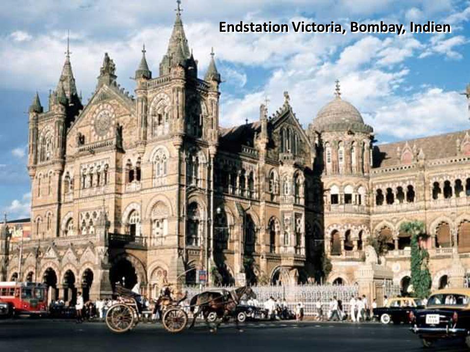 Endstation Victoria, Bombay, Indien