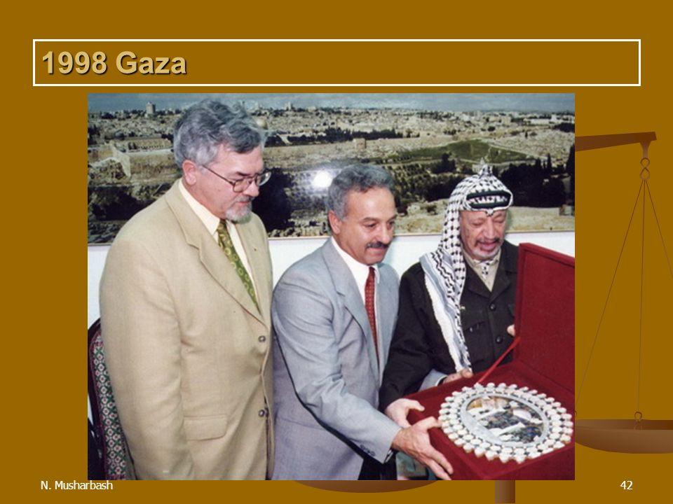 N. Musharbash42 1998 Gaza