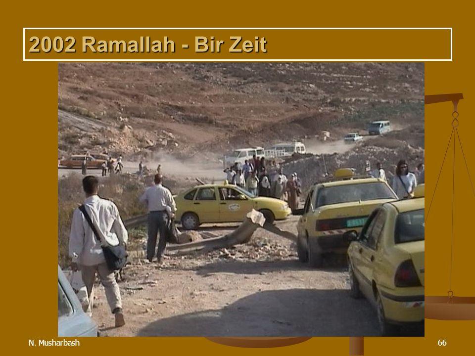 N. Musharbash66 2002 Ramallah - Bir Zeit