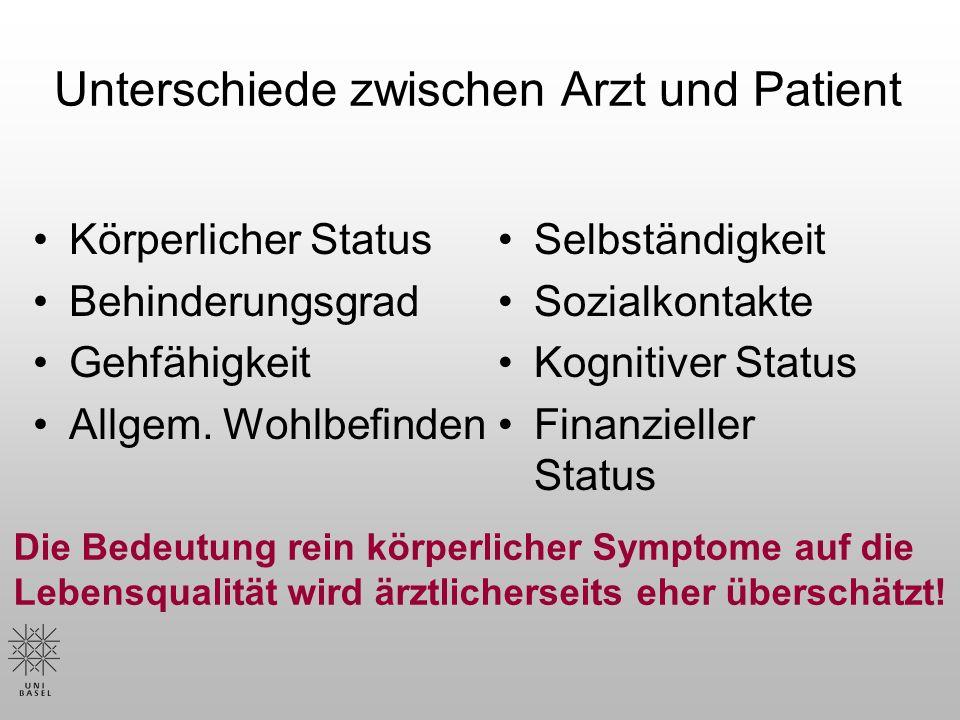 Belastung von MS- Betroffenen… Irreversibilität und/oder Progredienz d.