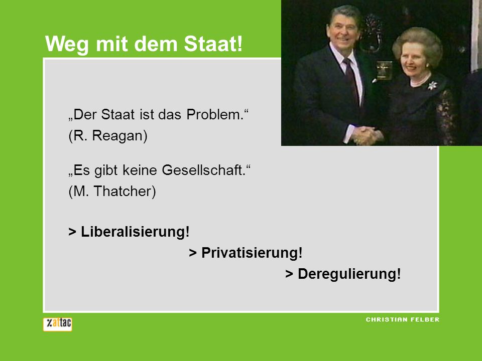 Immer weniger Staat... Steuerquote Deutschland 1980 - 2005 24,5% 20,3%