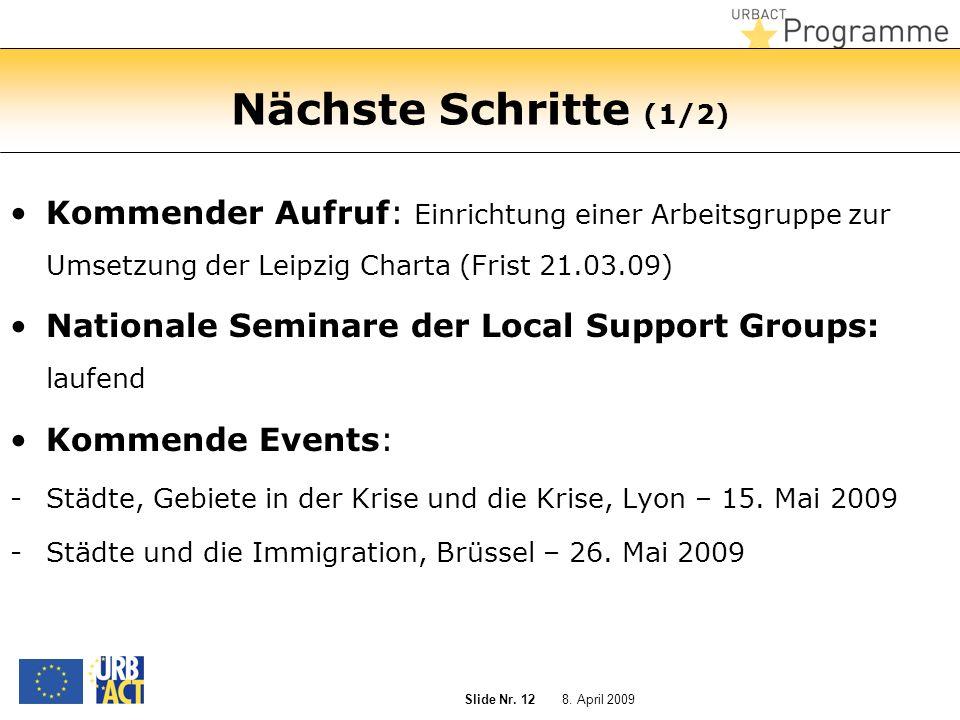 8. April 2009 Slide Nr.
