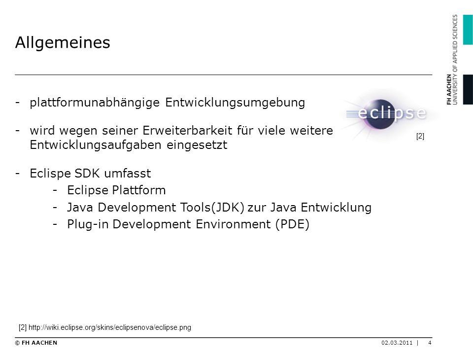 Allgemeines -plattformunabhängige Entwicklungsumgebung -wird wegen seiner Erweiterbarkeit für viele weitere Entwicklungsaufgaben eingesetzt -Eclispe S