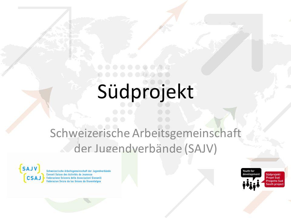 Ziele Jugendpartizipation in Entwicklungsländern und in der Schweiz fördern Jugendorganisationen in Entwicklungsländern stärken Schweizer Jugend zu entwicklungspolitischen Themen sensibilisieren