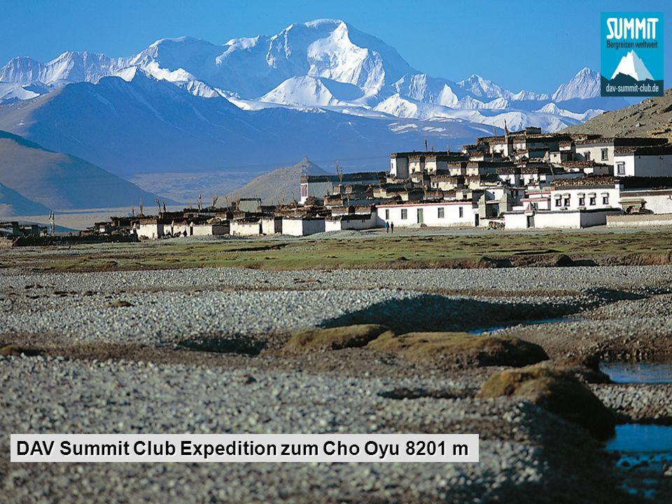 DAV Summit Club Expedition zum Cho Oyu 8201 m