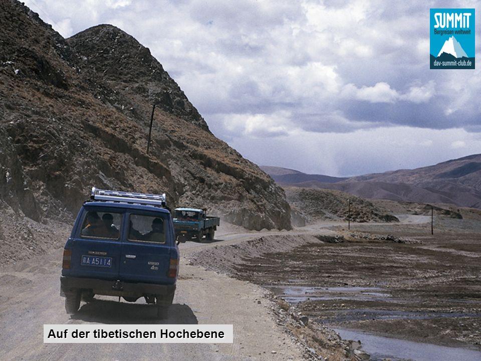 Auf der tibetischen Hochebene
