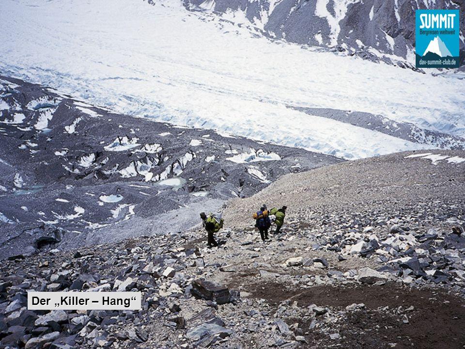 Aufstieg zum C2, 6950 m