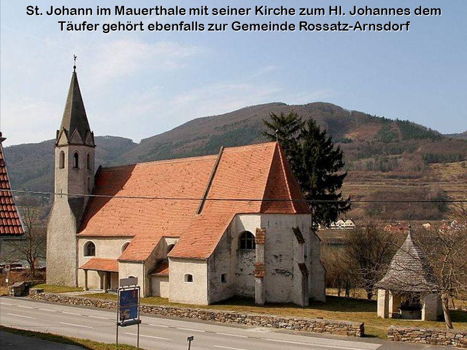 St.Johann im Mauerthale mit seiner Kirche zum Hl.