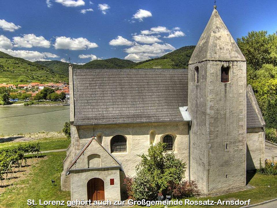 St. Lorenz gehört auch zur Großgemeinde Rossatz-Arnsdorf