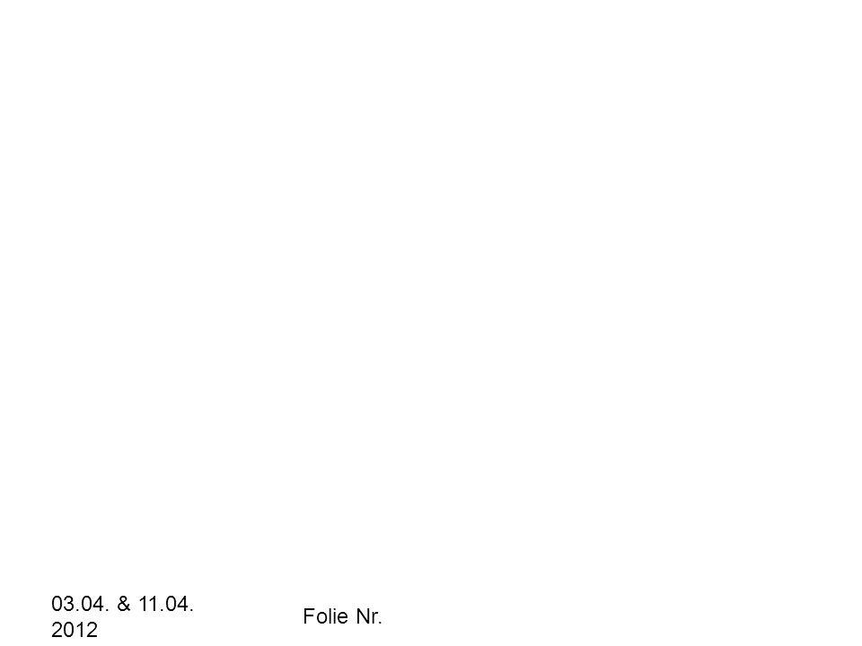 03.04. & 11.04. 2012 Folie Nr.