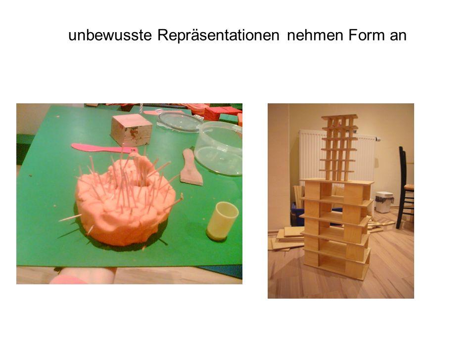 unbewusste Repräsentationen nehmen Form an