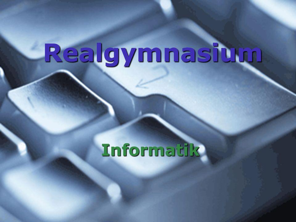 Realgymnasium Informatik