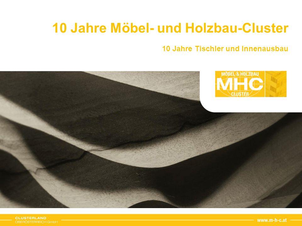 10 Jahre Möbel- und Holzbau-Cluster 10 Jahre Tischler und Innenausbau