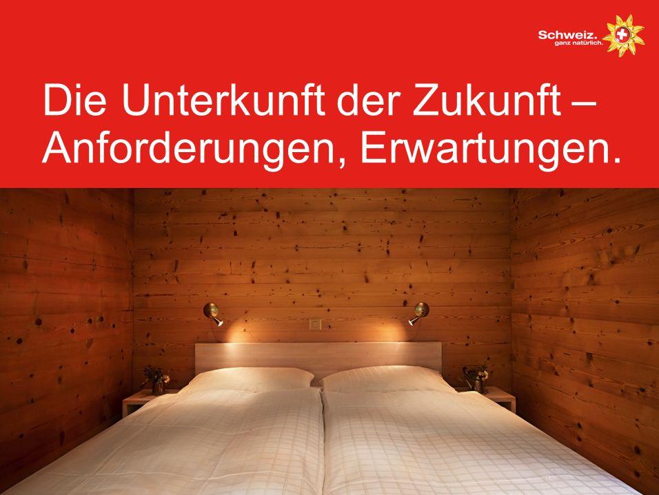 Die Unterkunft der Zukunft – Anforderungen, Erwartungen.