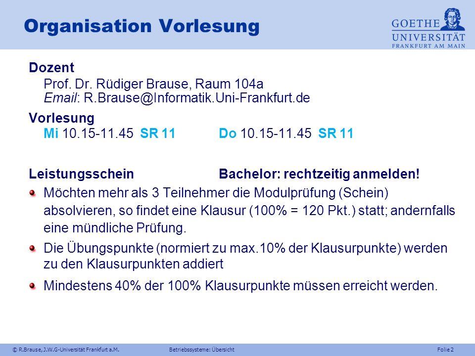 © R.Brause, J.W.G-Universität Frankfurt a.M.