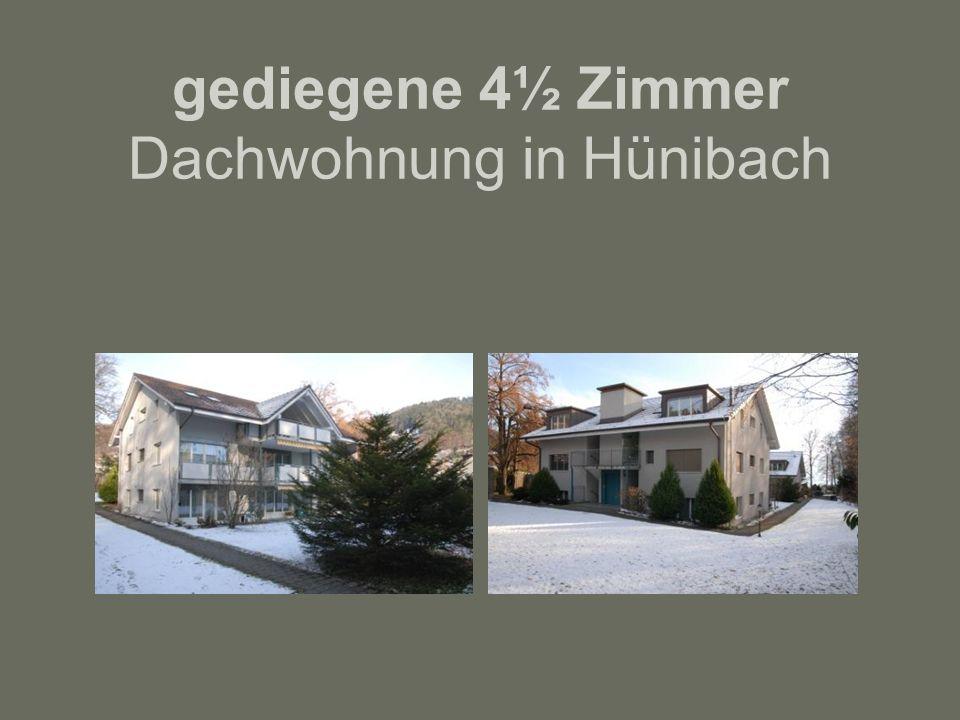gediegene 4½ Zimmer Dachwohnung in Hünibach