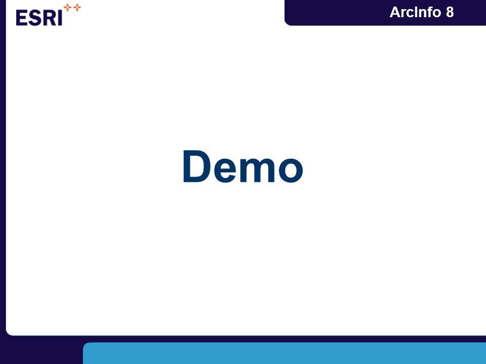 ArcInfo 8 Demo