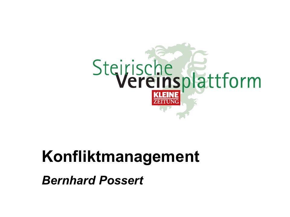 Konfliktmanagement 5 Balancen 5 Phasen 5 Bereiche