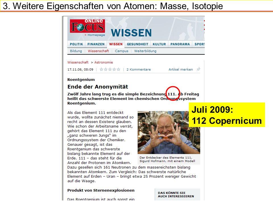 Juli 2009: 112 Copernicum