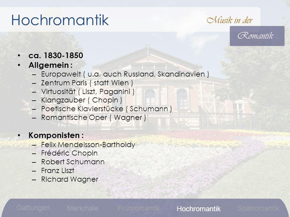 ca.1830-1850 Allgemein : – Europaweit ( u.a.