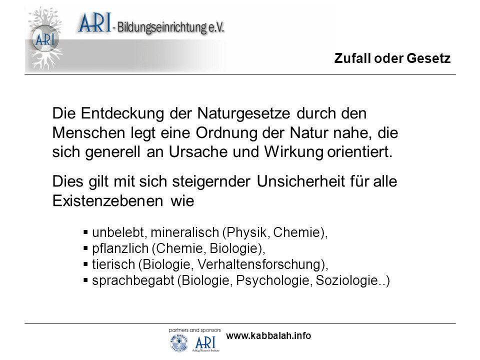 www.kabbalah.info Bürgschaft und Freiheit Kann ich mich also zum Studium in mein Kämmerlein zurückziehen.