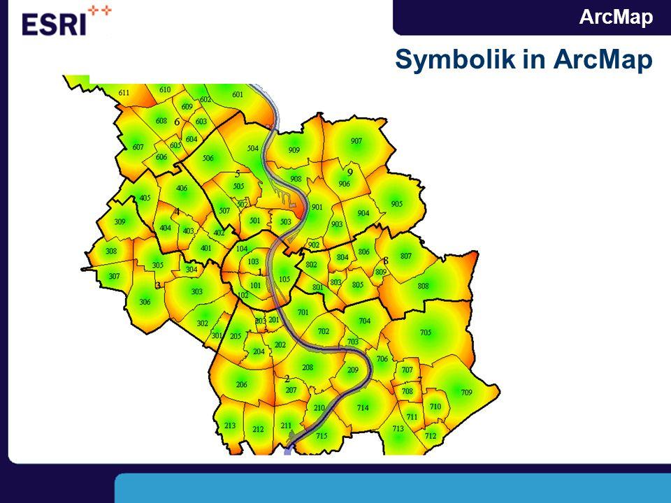 ArcMap Symbolik in ArcMap