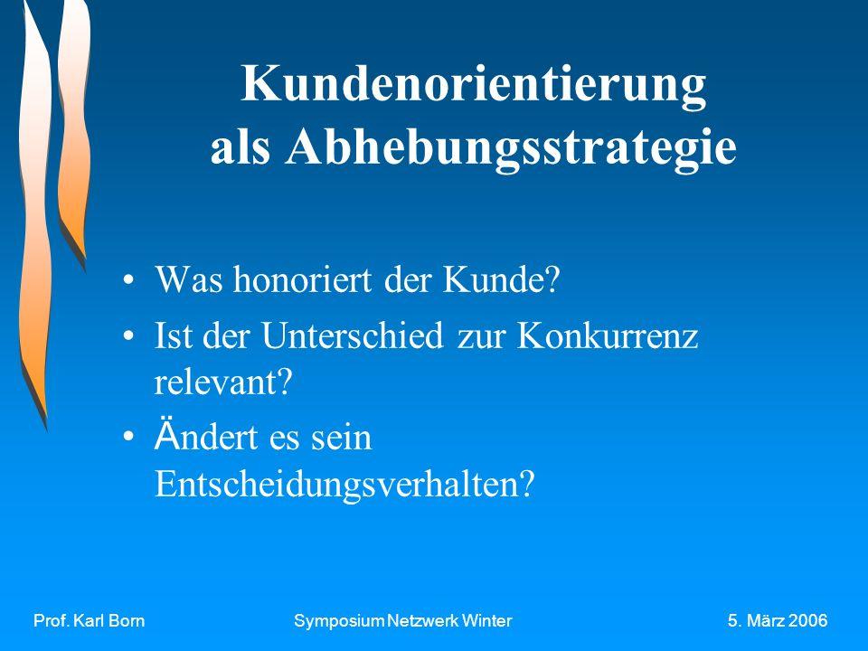 Prof. Karl BornSymposium Netzwerk Winter5.