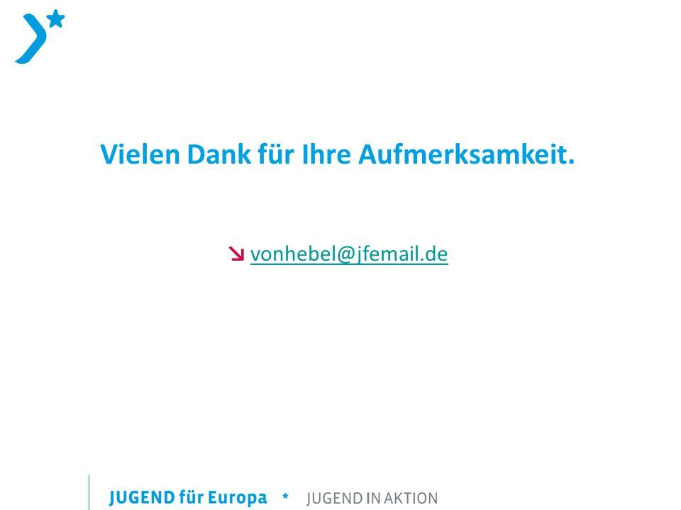 Vielen Dank für Ihre Aufmerksamkeit. vonhebel@jfemail.de