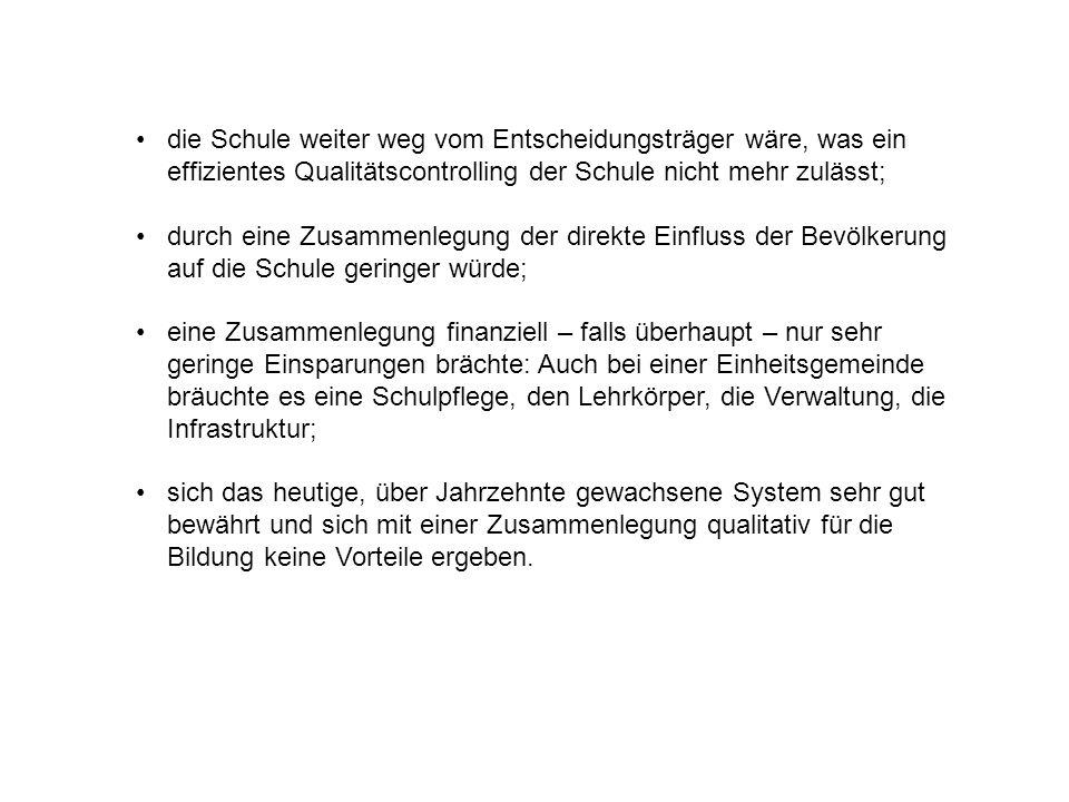 Haltung des Schulrates Stans Als Fazit einer Sondersitzung des Schulrates Stans am 14.