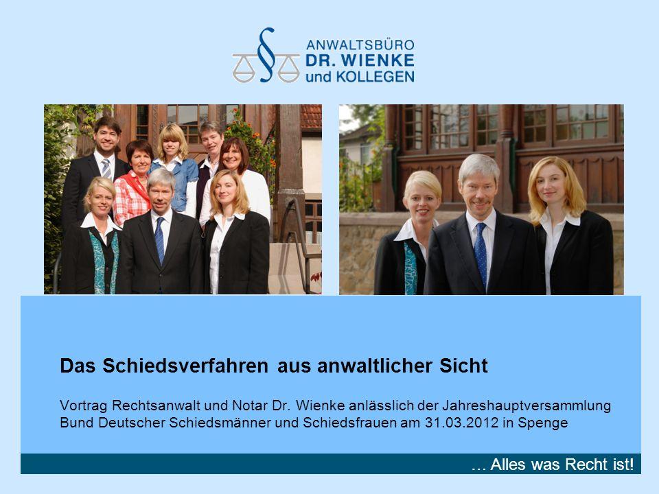 18.Mai 2014 | Folie 2 Zur Person Rechtsanwalt und Notar Dr.