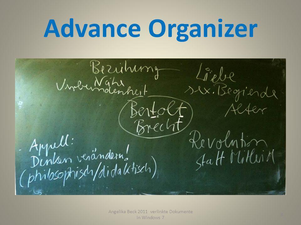 Advance Organizer 9 Angelika Beck 2011 verlinkte Dokumente in Windows 7