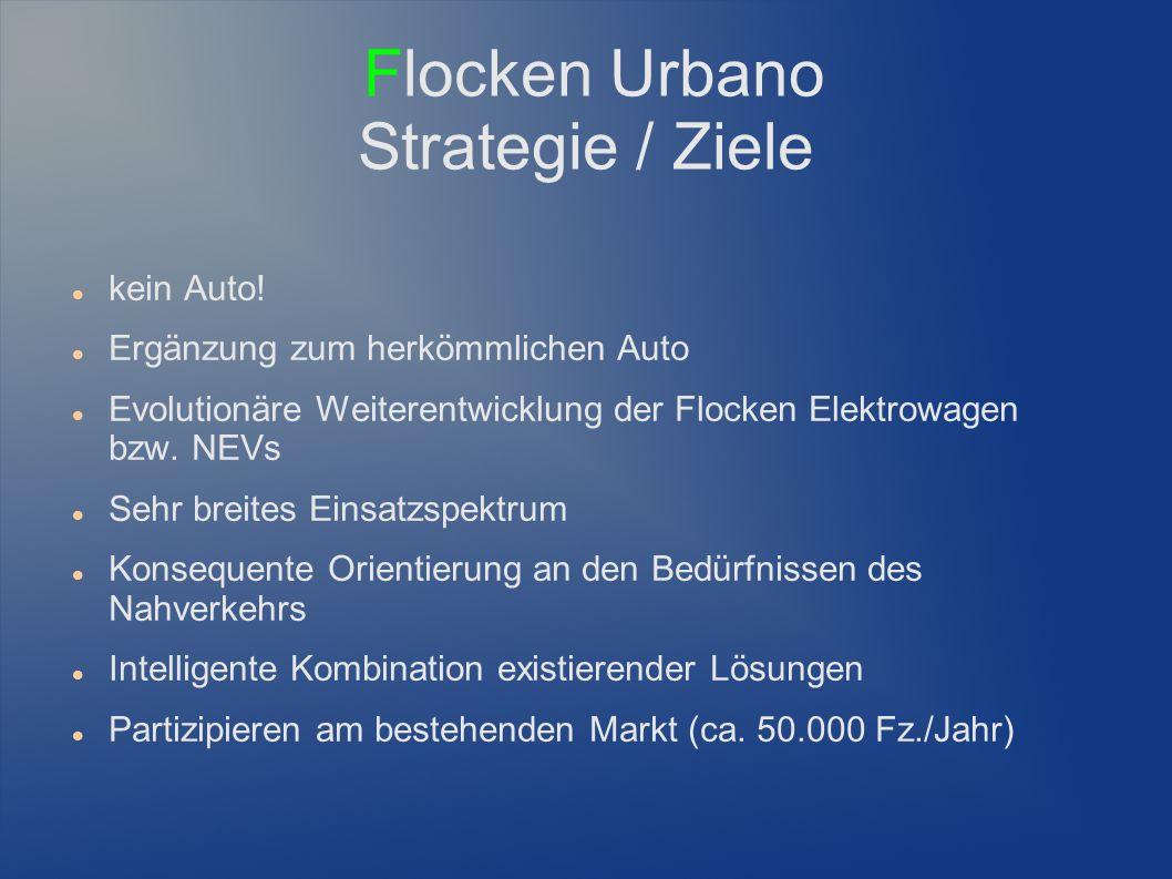 Flocken Urbano Strategie / Ziele kein Auto.