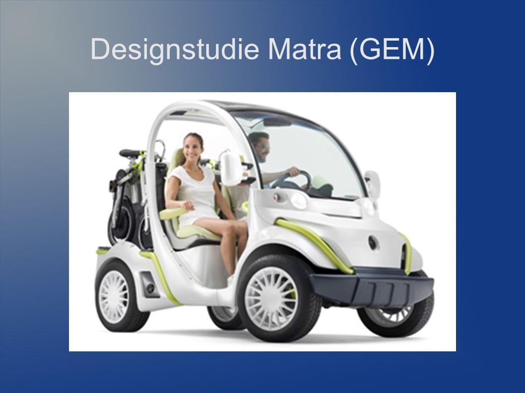 Designstudie Matra (GEM)