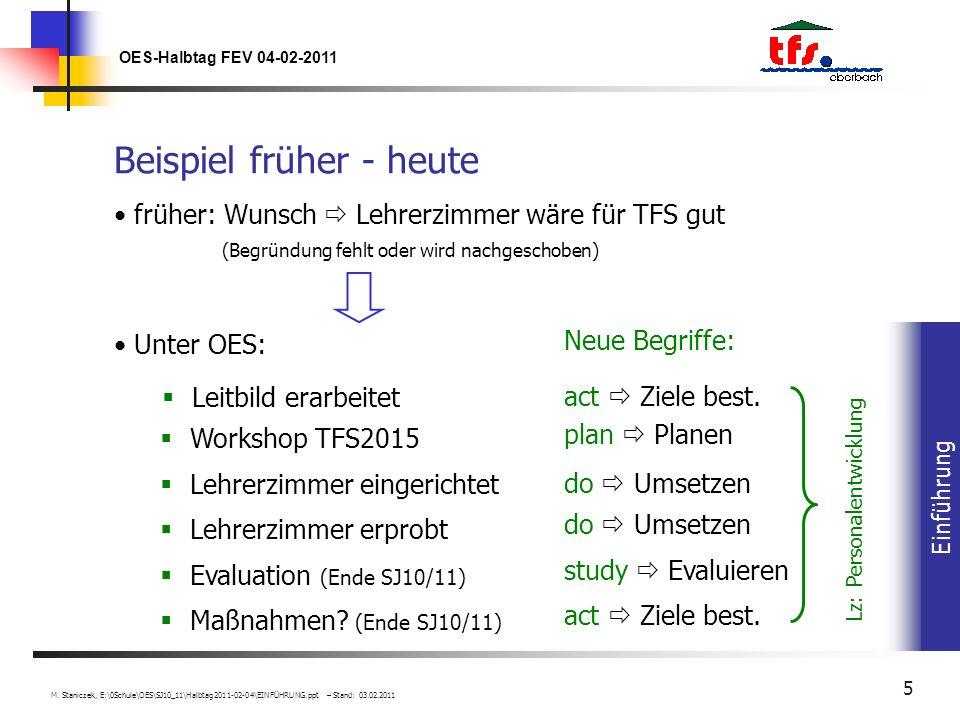 Einführung OES-Halbtag FEV 04-02-2011 M.