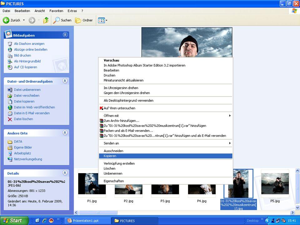 PK1B Zusammenfassung PPT5 Bilder und Objekte einfügen, formatieren