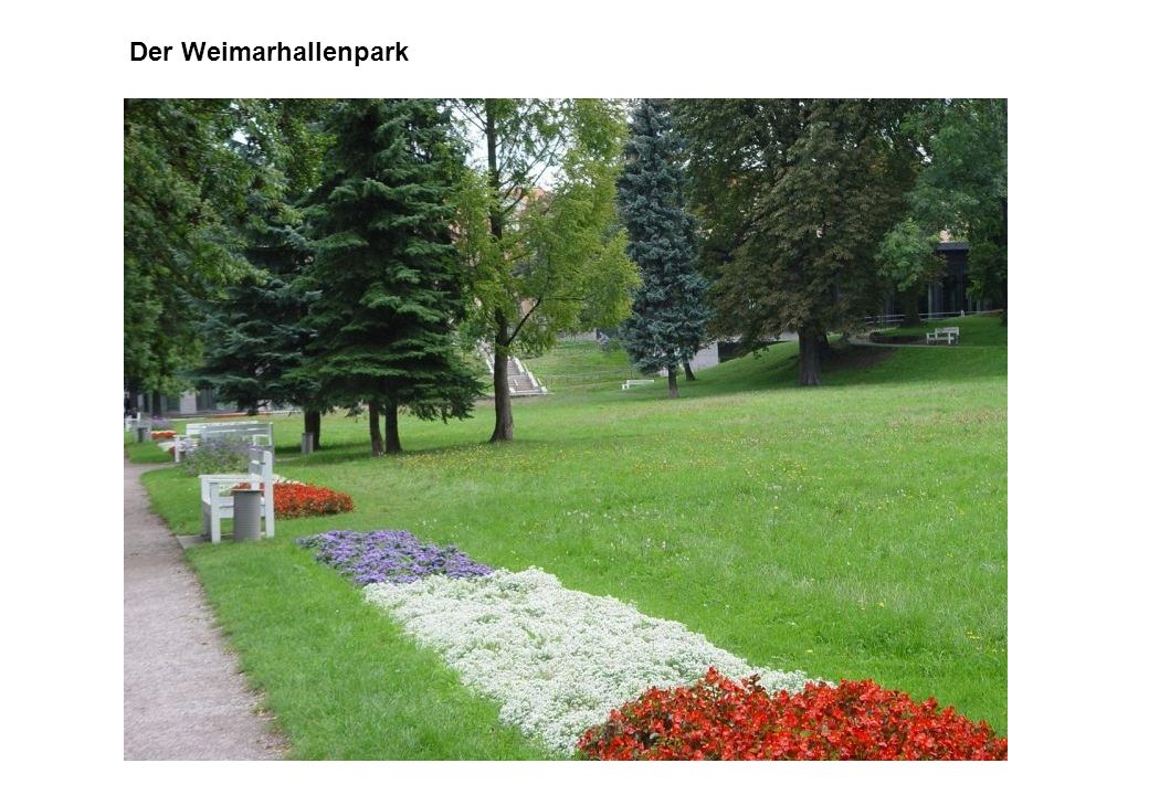 Der Weimarhallenpark