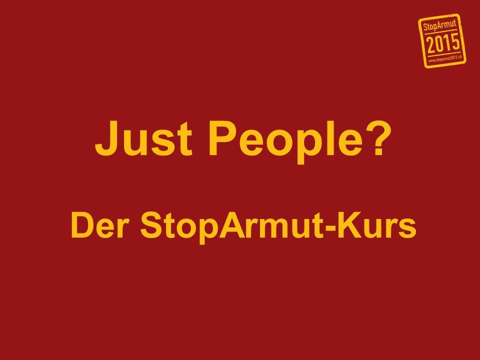 StopArmut-Kampagne: StopArmut 2015 ist eine durch den Verband Interaction verantwortete Kampagne der Schweizerischen Evangelischen Allianz.