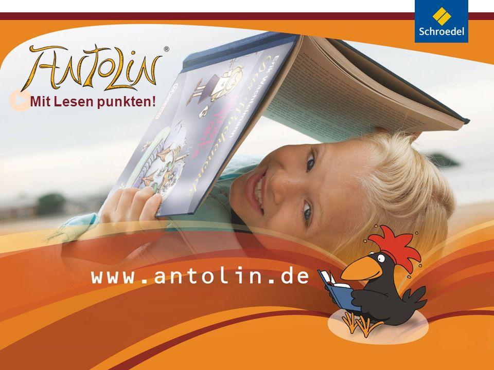 Folie 2 Neue Zugänge zum Lesen Buch + Internet = www.antolin.de