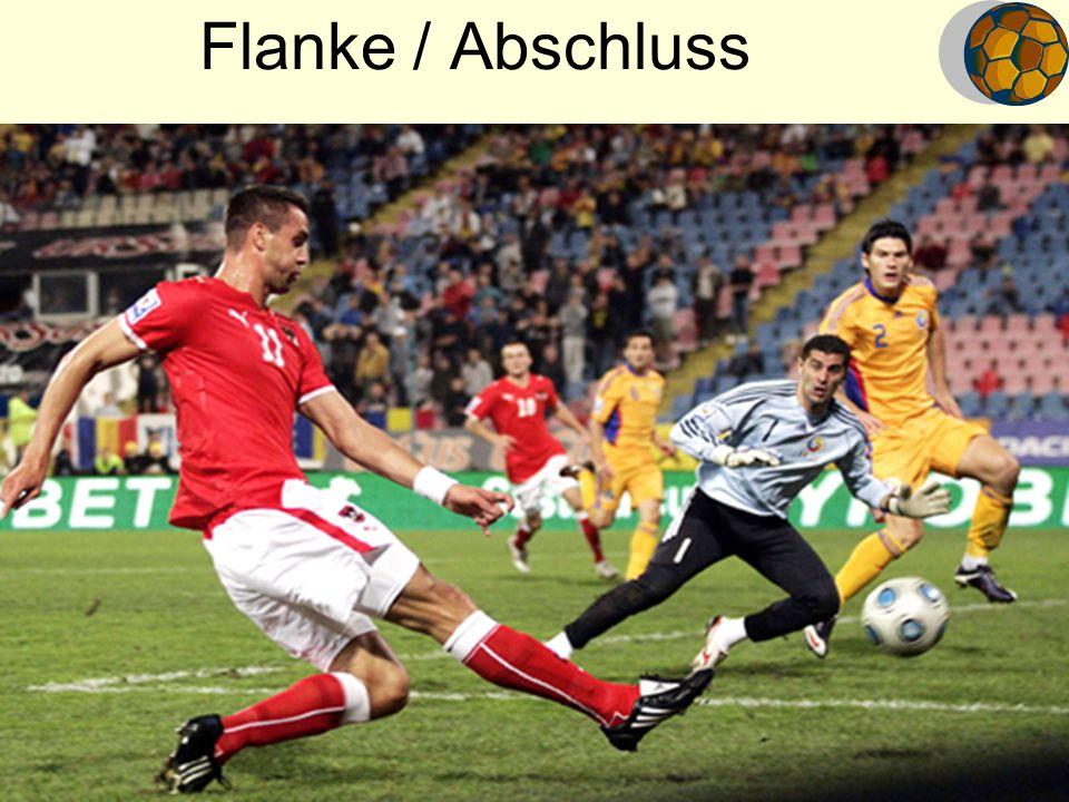 Flanke / Abschluss