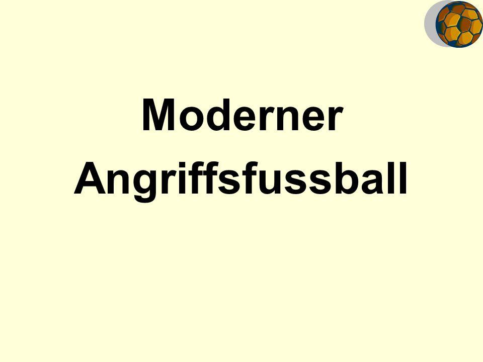 Moderner Angriffsfussball