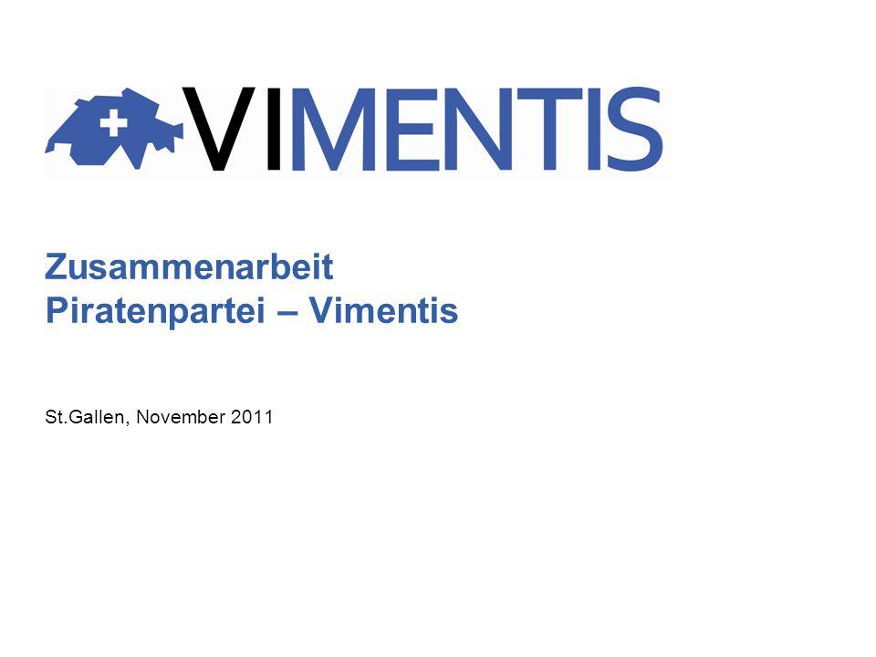Zusammenarbeit Piratenpartei – Vimentis St.Gallen, November 2011