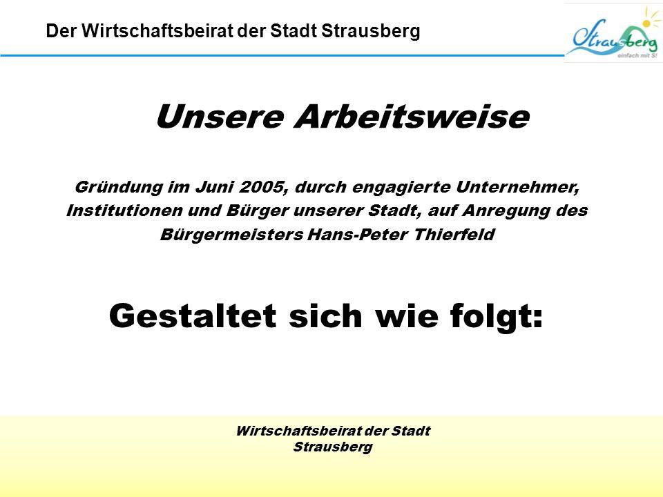 Wirtschaftsbeirat der Stadt Strausberg Der Wirtschaftsbeirat der Stadt Strausberg IHK Film 3