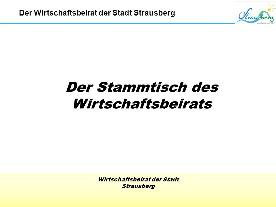 Wirtschaftsbeirat der Stadt Strausberg Patenklasse zu Besuch bei der Firma SIDUTEC Der Wirtschaftsbeirat der Stadt Strausberg