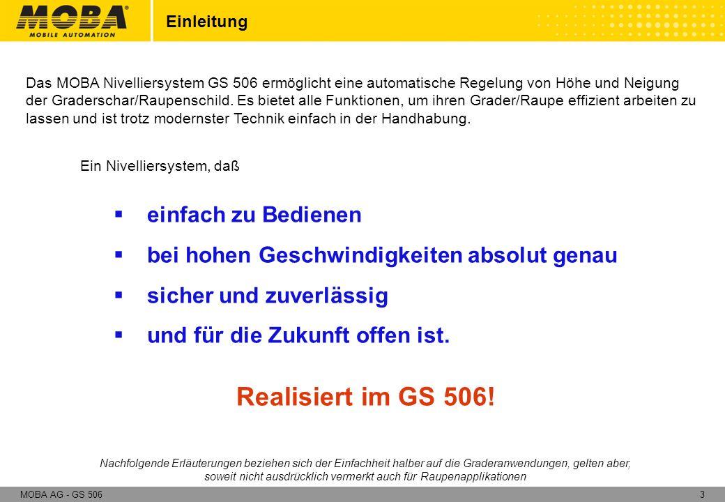 54MOBA AG - GS 506 Künstliche Referenz entfällt.
