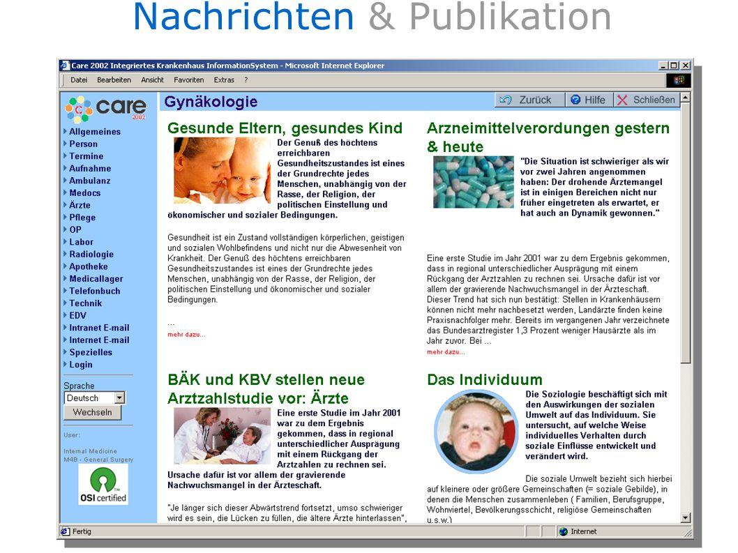 Nachrichten & Publikation